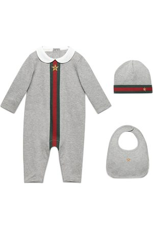 Gucci Dreiteiliges 'Baby Web' Set