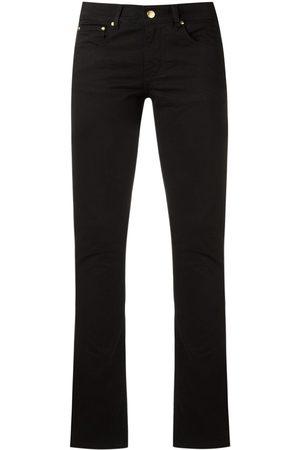 AMAPÔ Damen Skinny - Halbhohe Skinny-Jeans