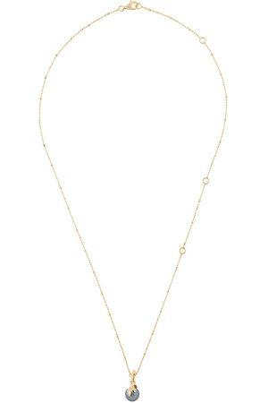 KASUN LONDON Halskette aus vergoldetem Sterlingsilber
