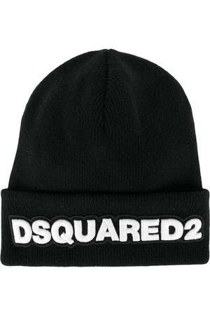 Dsquared2 Wollmütze mit Logo-Patch