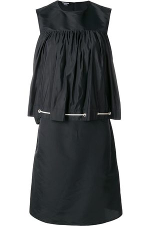 Calvin Klein Damen Freizeitkleider - Kleid mit Knitteroptik