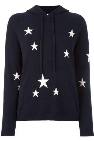 Chinti And Parker Damen Strickpullover - Intarsien-Kapuzenpullover mit Sternenmuster