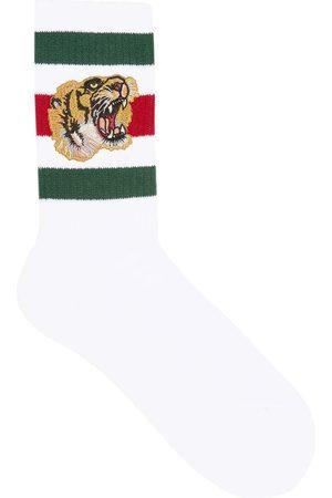 Gucci Socken mit Tiger-Print
