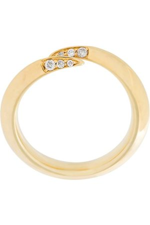 SHAUN LEANE Signature Tusk' Ring mit Diamanten