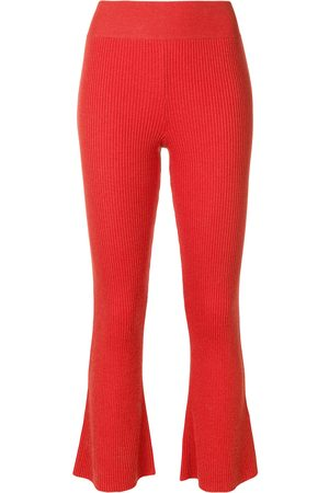 Cashmere In Love Damen Capris - Gerippte 'Tilly' Wollhose