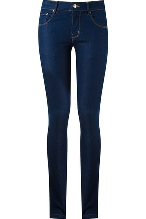 Amapô Damen Skinny - Skinny-Jeans im Five-Pocket-Design