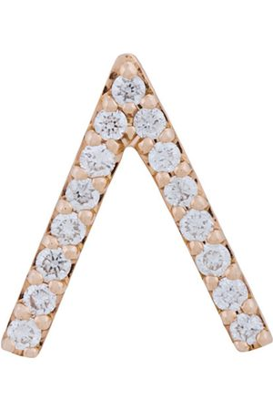 ALINKA 18kt 'ID' Rotgoldohrring mit Diamanten