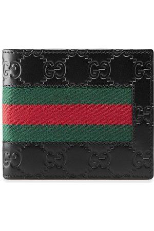 Gucci Portemonnaie mit Webstreifen