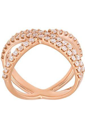 ALINKA Damen Ringe - 18kt 'Katia' Rotgoldring mit Diamanten