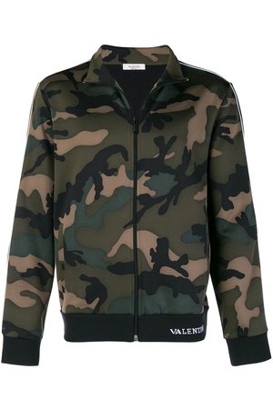 VALENTINO Sportjacke mit Camouflage-Muster