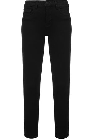 L'Agence Skinny-Jeans mit hohem Bund