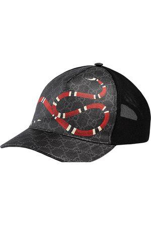Gucci Baseballkappe mit Schlangenmotiv