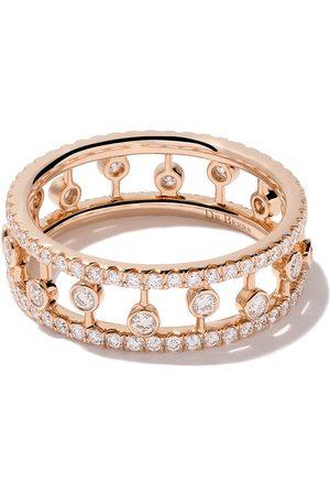 De Beers 18kt 'Dewdrop' Rotgoldring mit Diamanten