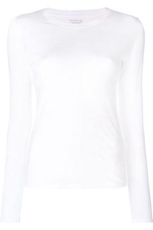 Vince Damen Longsleeves - Langarmshirt mit rundem Ausschnitt