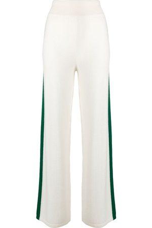 Cashmere In Love Damen Lange Sporthosen - Jogginghose mit seitlichem Streifen