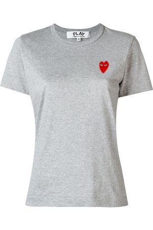Comme des Garçons T-Shirt mit Logo-Patch