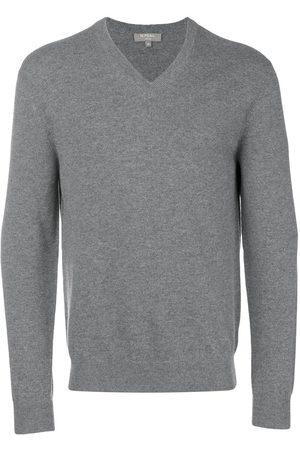 N.PEAL Herren Strickpullover - Klassischer Pullover