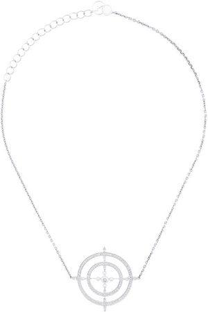 Anissa Kermiche 18kt Weißgoldhalskette mit Perlen