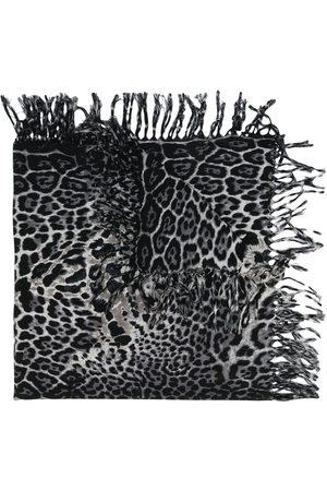 Saint Laurent Schal mit Animal-Print