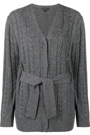Cashmere In Love Cardigan mit Zopfmuster