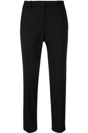 THEORY Schmale Cropped-Hose