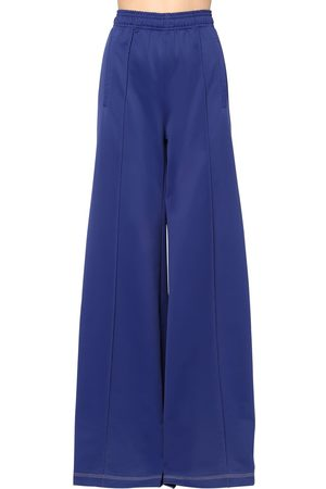 Marni Techno Jersey Wide Leg Pants