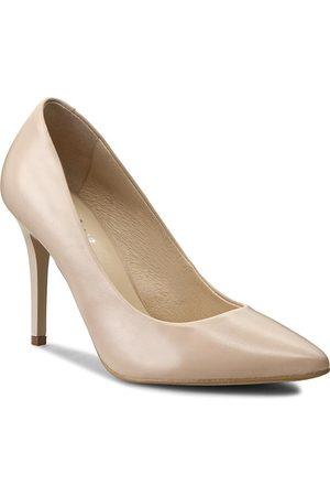 Eksbut Damen Pumps - High Heels - 2270-C91-1G Beż