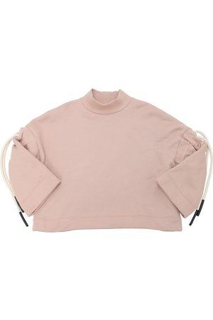 Unlabel Baumwollsweatshirt Mit Kordelzug