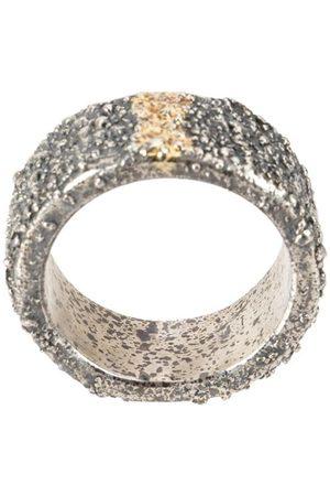 TOBIAS WISTISEN Ring mit goldfarbenen Streifen