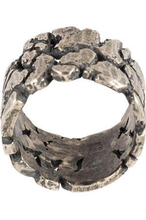 TOBIAS WISTISEN Ringe - Ring in Distressed-Optik