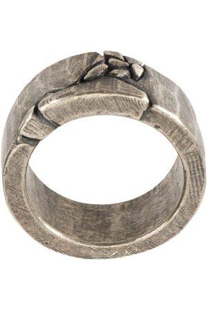 TOBIAS WISTISEN Geprägter Silberring
