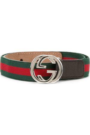 Gucci Jungen Gürtel - Gürtel mit GG-Schnalle