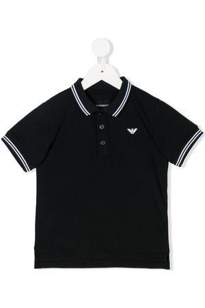 Armani Poloshirt mit Streifen
