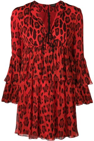 Tom Ford Kleid mit Leoparden-Print