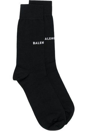 Balenciaga Gestrickte Socken mit Logo