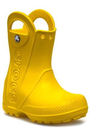 Crocs Mädchen Gummistiefel - Handle It Rain 12803 Yellow