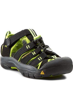 Keen Sandalen - Newport H2 1009942 Black/Lime Green