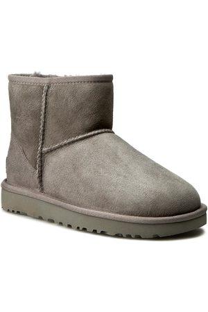 UGG Damen Winterstiefel - Schuhe - W Classic Mini II 1016222 W/Grey