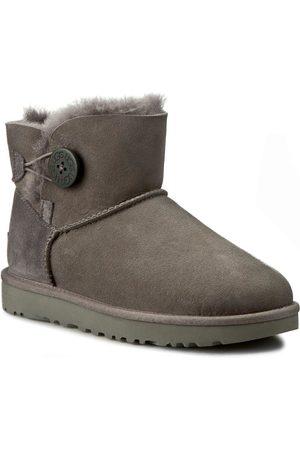 UGG Schuhe - W Mini Bailey Button II 1016422 W/Grey