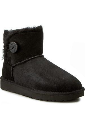 UGG Schuhe - W Mini Bailey Button II 1016422 W/Blk