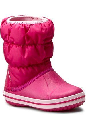 Crocs Schneeschuhe - Winter Puff Boot Kids 14613 Candy Pink