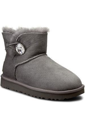 UGG Schuhe - W Mini Bailey Button Bling 1016554 W/Grey