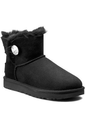 UGG Schuhe - W Mini Bailey Button Bling 1016554 W/Blk