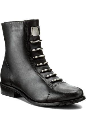 Eksbut Damen Stiefel - 65-3828-155-1G Czarny Licowa