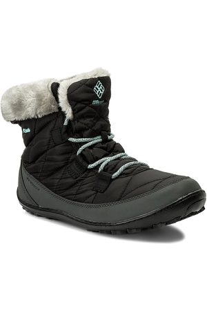 Columbia Schneeschuhe - Youth Minx Shorty Omni-Heat Waterproof BY1334 Black/Sparay 010
