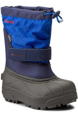 Columbia Schneeschuhe - Childrens Powderbug Plus II BC1326 Collegiate Navy/Chili 464
