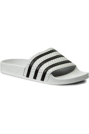 adidas Pantoletten - adilette 280648 White/None/White