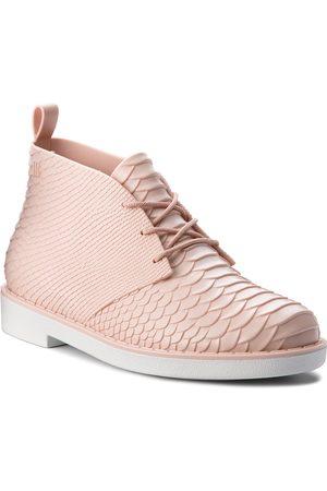Melissa Stiefeletten - Desert Boot Python + B 32366 Pink/White 52137