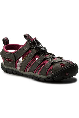 Keen Sandalen - Clearwater Cnx Leather 1014370 Magnet/Sangria