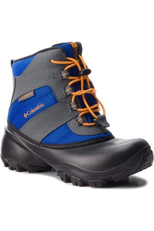 Columbia Schneeschuhe - Childrens Rope Tow III Waterproof BC1322 Azul/Orange Blast 437